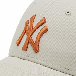 Casquette 9Forty League Essential 60137489 New York Yankees Beige